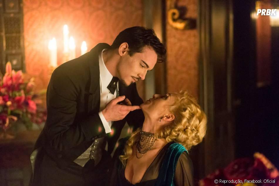 Dracula (Jonathan Rhys Meyer) vive como o jovem Allen Grayson na Inglaterra, dos anos 1890