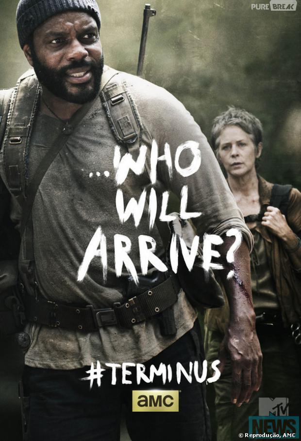 "Poster ""The Walking Dead"" episódio 4x16, ""A"""