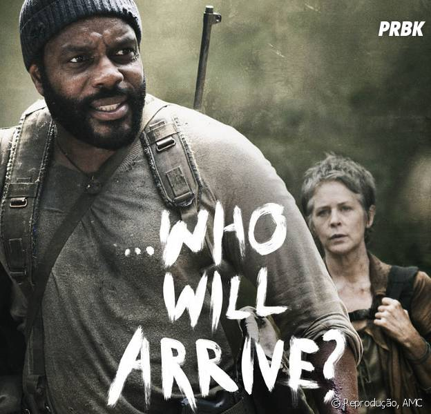 "Poster ""The Walking Dead"" episódio 4x16, ""A"""