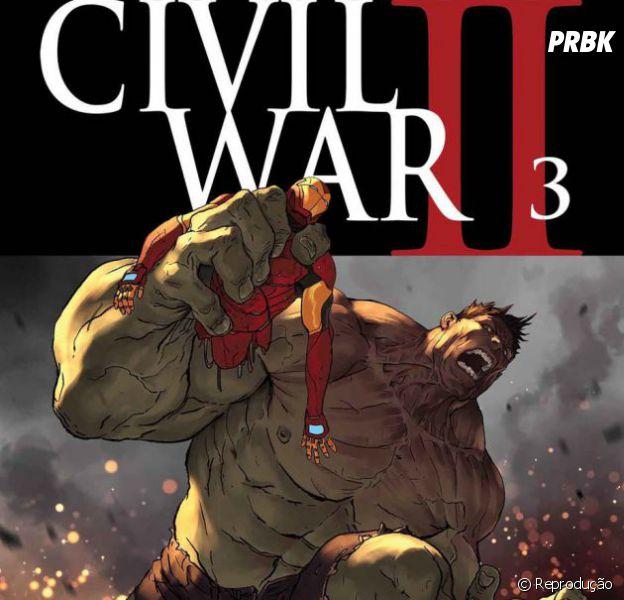 """De """"Guerra Civil 2"""": Hulk é a segunda vítima do novo arco de histórias da Marvel"""
