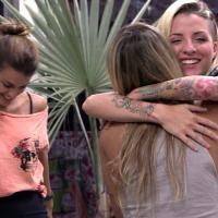"""Aniversário no """"BBB14"""": Vanessa comemora com Clara e Angela"""