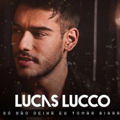 """Lucas Lucco, de """"Malhação"""", lança """"Só Não Deixa Eu Tomar Birra"""" com direito a clipe emocionante"""
