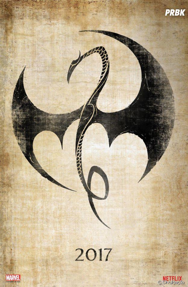 """""""Punho de Ferro"""", da Netflix, ganha seu primeiro cartaz"""