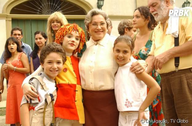 """Em """"O Sítio do Pica-Pau Amarelo"""", a Dona Benta (Nicete Bruno) é a vovó mais doce do mundo!"""