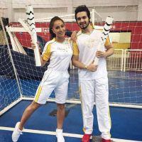 Luan Santana e Sabrina Sato carregam a tocha das Olimpíadas Rio 2016 e fãs piram nas redes sociais!