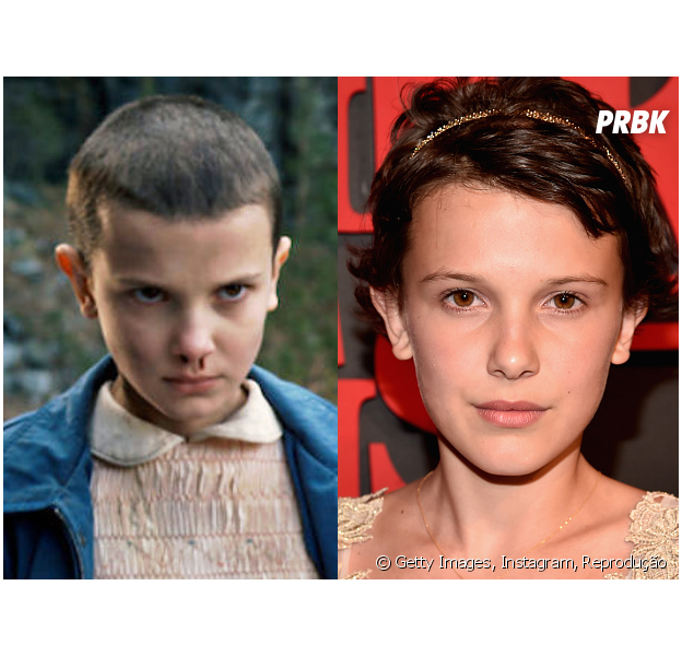 """Em """"Stranger Things"""",Millie Bobby Brown interpreta Eleven. A jovem é mais fofa na vida real, né?"""