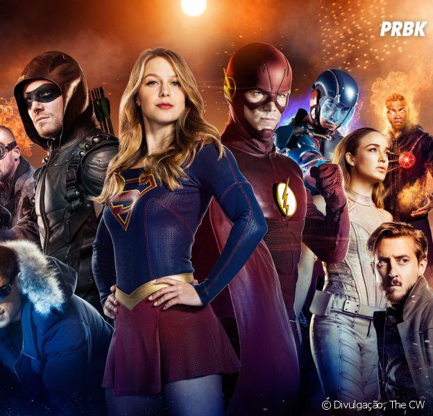 """""""Supergirl"""" será foco em crossover com """"The Flash"""", """"Arrow"""" e """"Legends of Tomorrow"""""""