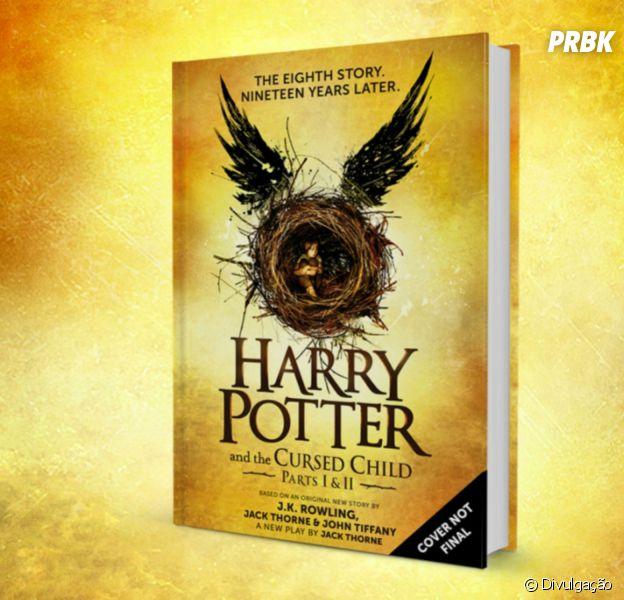 """""""Harry Potter e a Criança Amaldiçoada"""" é a oitava história da série """"Harry Potter"""""""
