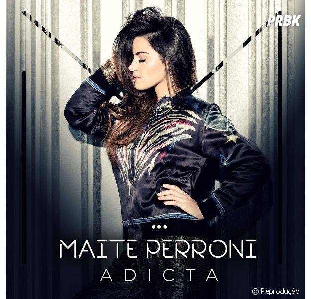 """Maite Perroni lança oficialmente a música """"Adicta"""""""