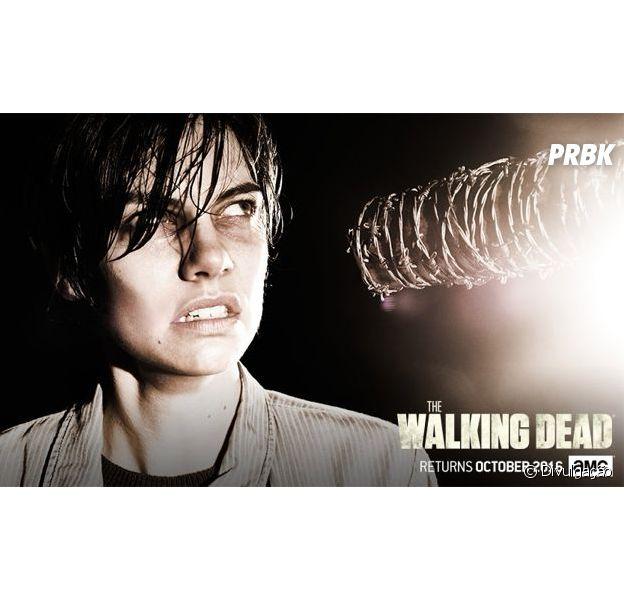 "Em ""The Walking Dead"", Lauren Cohan fala sobre futuro da gravidez de Maggie"