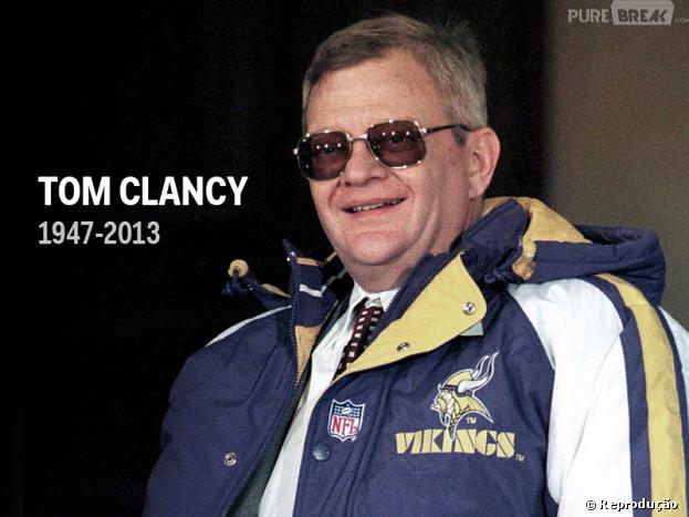 Tom Clancy, autor americano, morre aos 66 anos