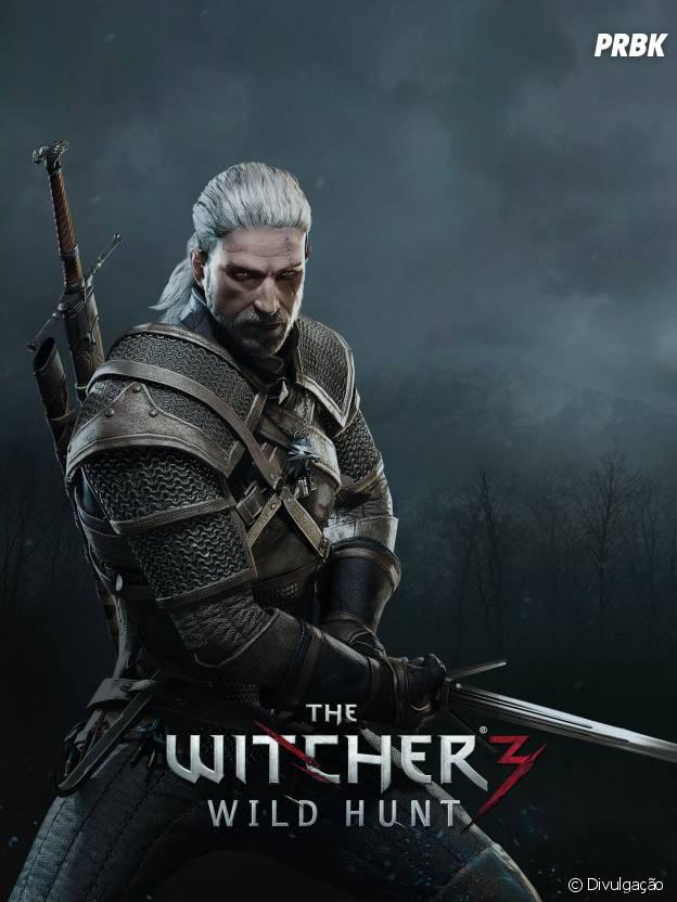Geralt em mais uma aventura épica da saga The Witch.