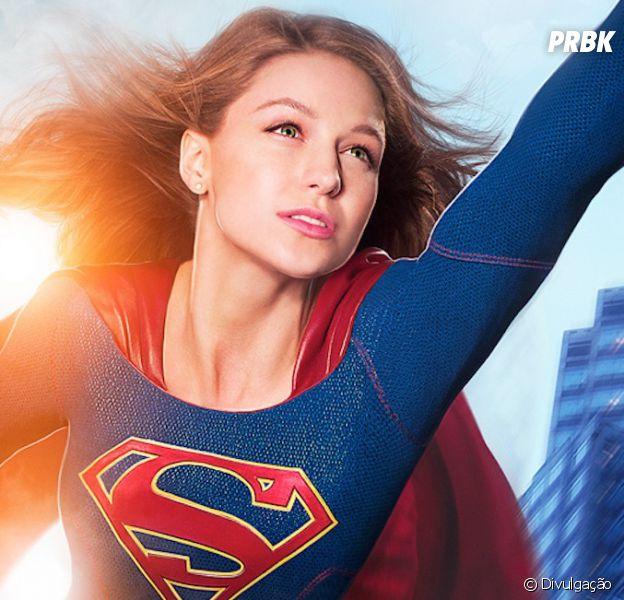 """Em """"Supergirl"""", Kara (Melissa Benoist) ainda terá que aturarCat Grant (Calista Flockhart)!"""