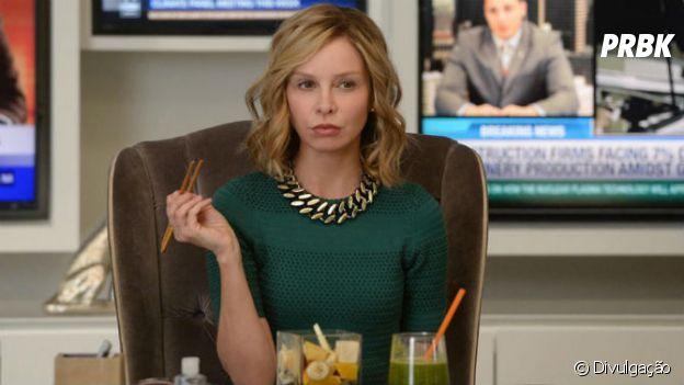 """Em """"Supergirl"""",Cat Grant (Calista Flockhart) não sairá da série definitivamente!"""