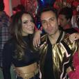 A gata e ex-namorada do Biel Flávia Pavanelli (de vermelho) também se jogou na festa do Whindersson Nunes