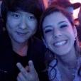 Pyong Lee também esteve presente na festa do Whindersson Nunes