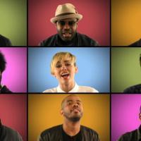 """Miley Cyrus faz versão de """"We can't stop"""" com Jimmy Fallon e banda The Roots"""
