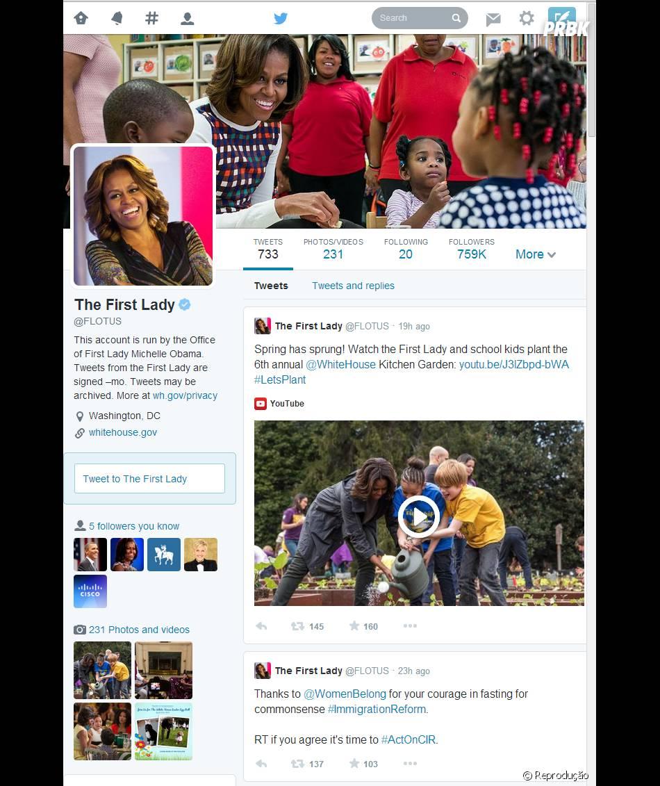 A partir desta segunda- feira (08) o Twitter começa a mudar o layout