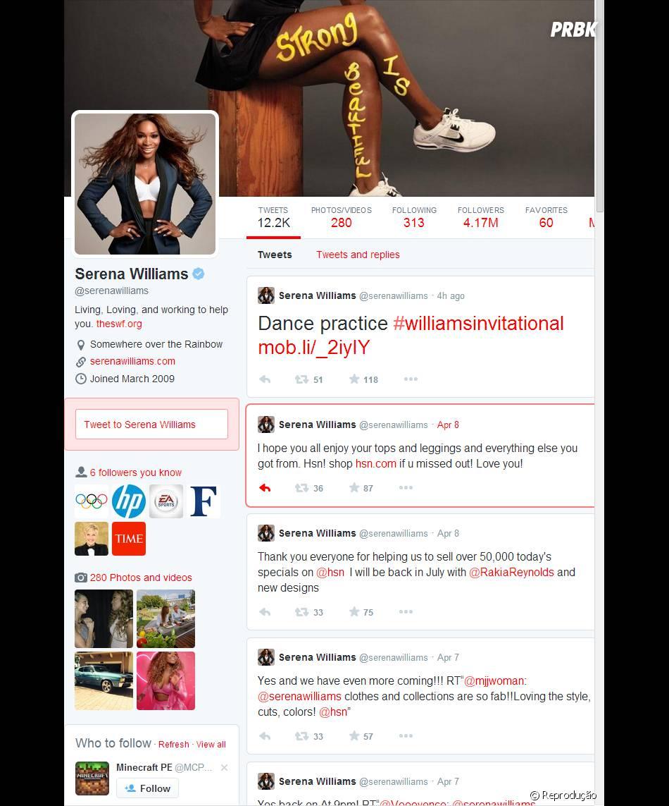 Algumas celebridades já estão com a conta Twitter atualizada