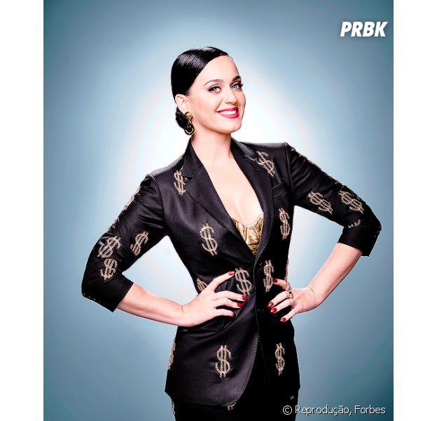 Katy Perry lidera lista das mulheres mais bem pagas do mundo da música em 2015