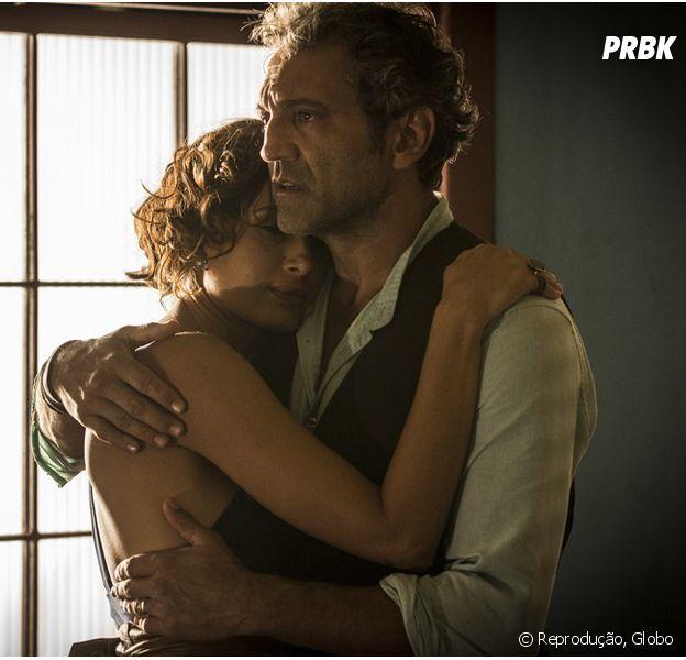 """Em """"Velho Chico"""", Tereza (Camila Pitanga) e Santo (Domingos Montagner) vão morar juntos!"""