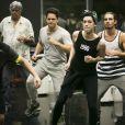 """Sophia Abrahão, Brenno Leone e participantes do """"Dança dos Famosos"""" caem na dança no primeiro ensaio"""