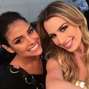 """Do """"BBB16"""", Munik Nunes se encontra com Fernanda Keulla, do """"BBB13"""", e fãs não gostam!"""