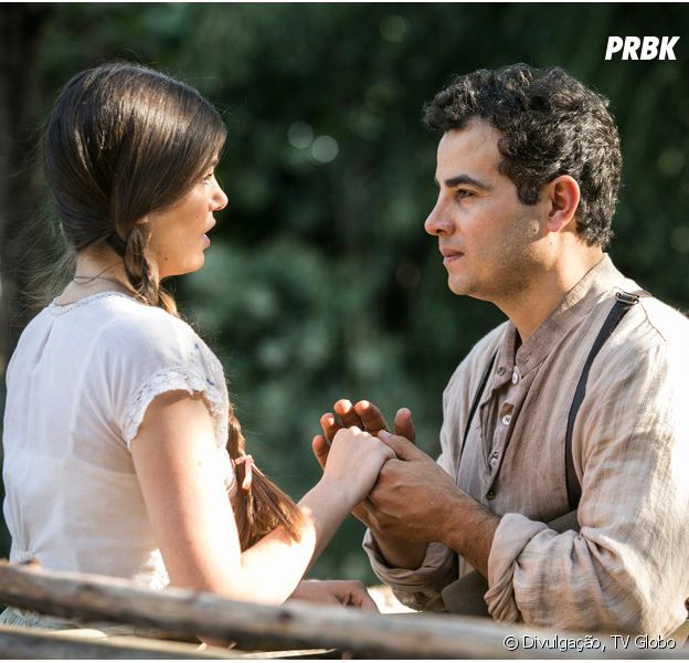 """De """"Êta Mundo Bom!"""",Anderson Di Rizzi, oZé dos Porcos, torce para queMafalda (Camila Queiroz) fique ao lado de seu personagem"""