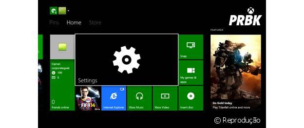 Atualização de firmware do Xbox One para março.
