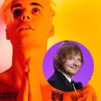 """Justin Bieber manda recado para Ed Sheeran: """"Não faça algo estúpido para estragar sua carreira"""""""