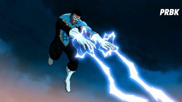 Da DC Comics, Raio Negro volta a ser herói após ver sua filha em perigo!