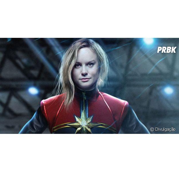 """De """"Capitã Marvel"""", Brie Larson mostra animação em novo papel: """"Acho muito importante"""""""
