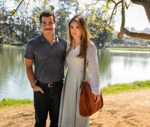 """Na primeira fase de """"A Lei do Amor"""",Isabelle Drummond também terá cenas românticas com Thiago Martins"""