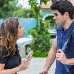 """Novela """"Malhação"""": Nanda (Amanda de Godoi) desabafa com Rômulo após beijo roubado"""
