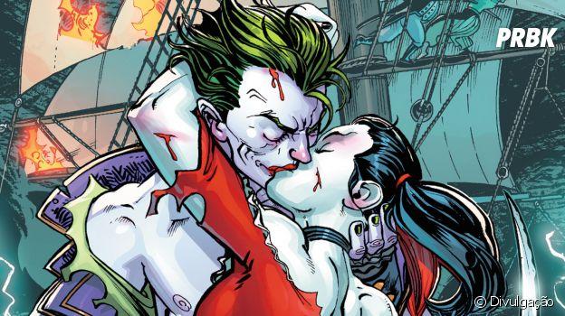 Coringa e Arlequina formam um casal amado dos quadrinhos, mesmo com todos os defeitos