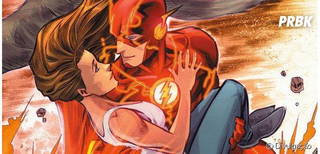 Flash e Iris são muito amados pelos fãs de quadrinhos!