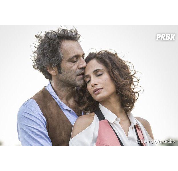 """Em """"Velho Chico"""": Santo (Domingos Montagner) e Tereza (Camila Pitanga) se casam no último capítulo!"""