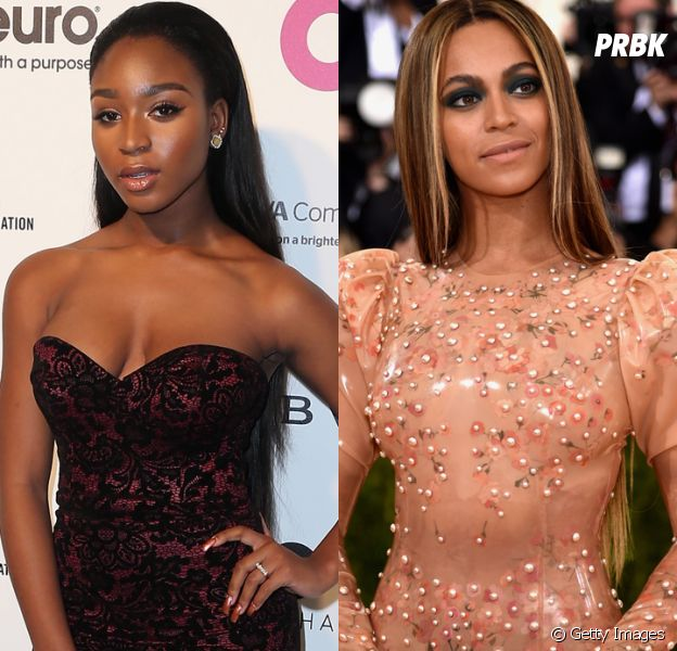 Fãs do Fifth Harmony comemoram encontro entre Normani Kordei e Beyoncé