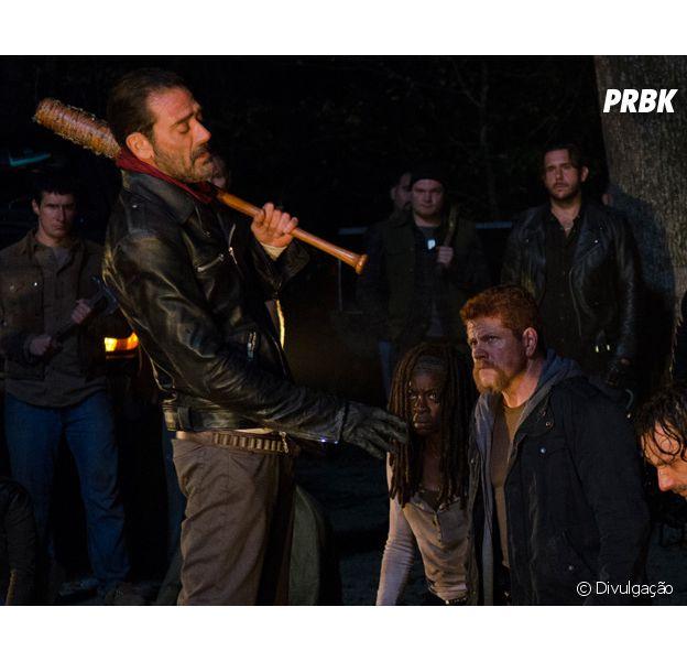 "Em ""The Walking Dead"", Danai Gurira, a Michonne, fala sobre entrada de Negan (Jeffrey Dean Morgan) e mais!"