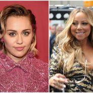 Miley Cyrus faz críticas à Mariah Carey e revela nunca ter sido fã da cantora!