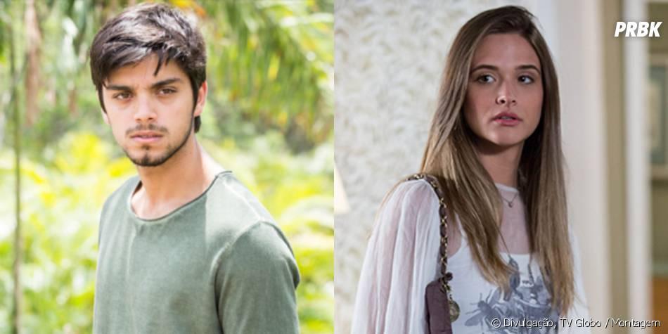 """Marlon (Rodrigo Simas) e Lili (Juliana Paiva) finalmente se entendem para o final """"Além do Horizonte"""""""