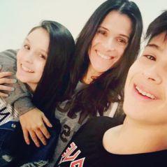 """Ingrid Guimarães posa com Larissa Manoela e João Guilherme: """"Também tô shippando esse casal"""""""