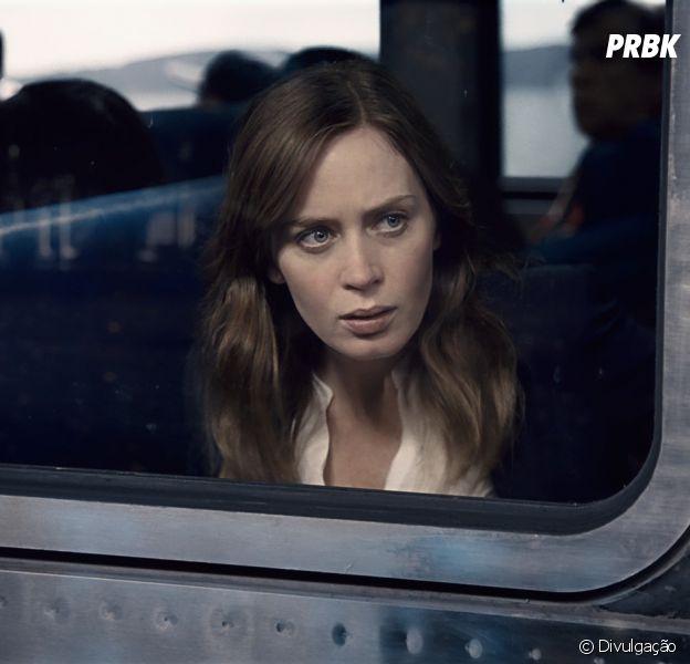 "Emily Blunt protagoniza ""A Garota no Trem"""
