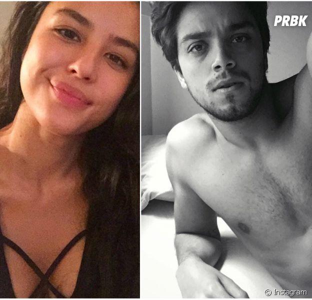 """Rodrigo Simas vai gravar cenas românticas com a ex-cunhadaYanna Lavigne, na novela """"Novo mundo"""""""