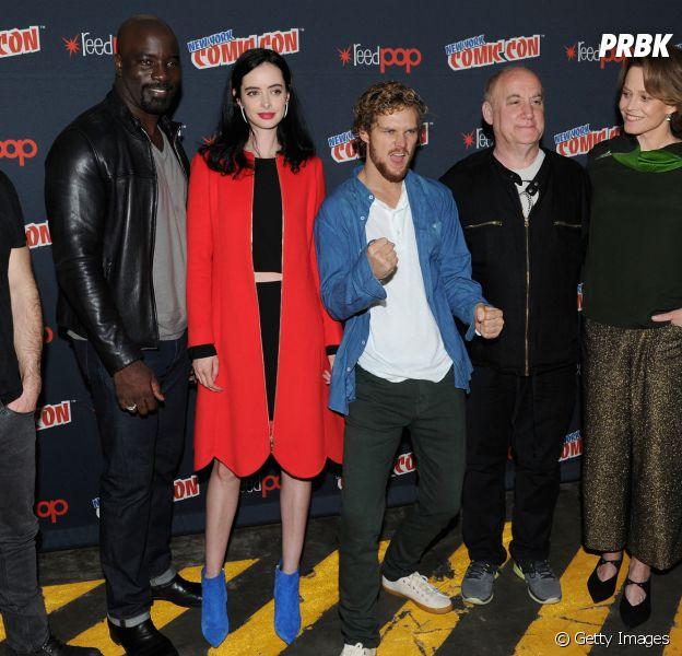 """Série """"Os Defensores"""", da Netflix: elenco se reune na Comic-Con New York 2016, e anuncia grande vilã da produção"""