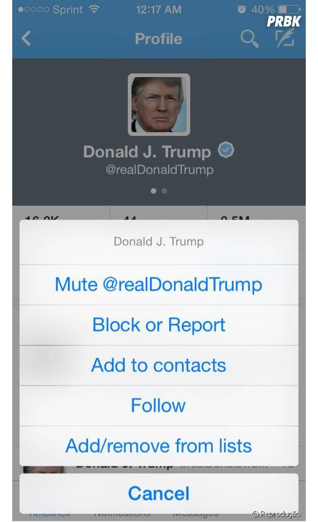 Usuária questiona se silenciar alguém é um novo recurso do Twitter