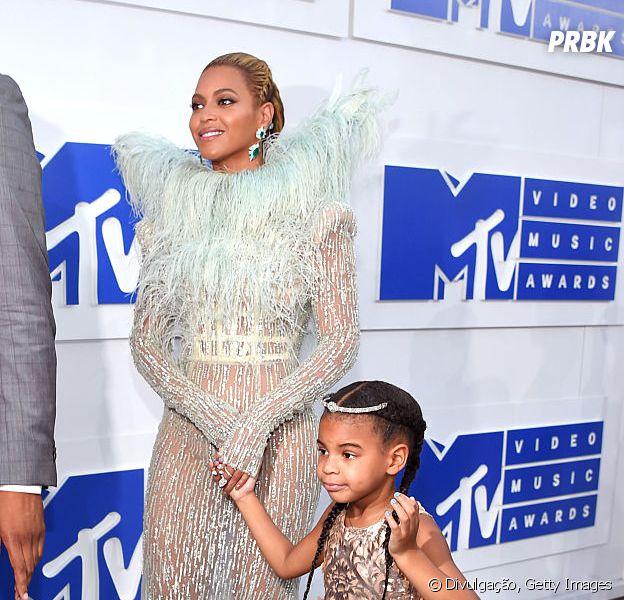Blue Ivy, filha da cantora pop Beyoncé, no VMA 2016