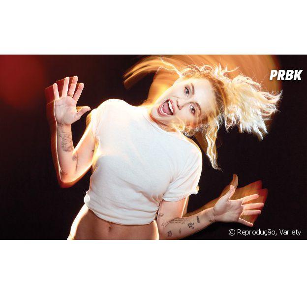 Miley Cyrus dá entrevista sincerona para a revista Variety