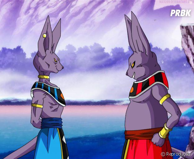 Bills e Champa são os deuses da destruição