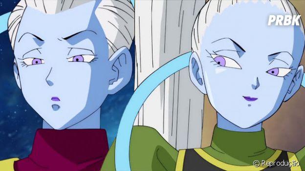 Whis e Vados são irmãos, mas vivem disputando quem tem mais poder